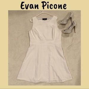 Evan-Picone sleeveless dress